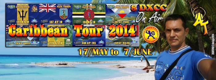 Caraibe IOTA Tour