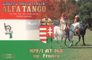 109/1AT148 Franco Hongrie