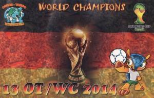 13OT/WC2014 Allemagne